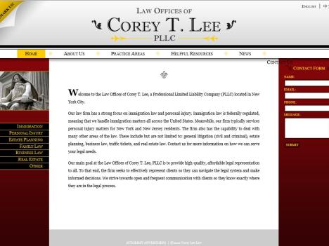 Law Offices of Corey T. Lee