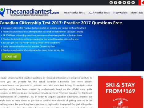 The Canadian Test