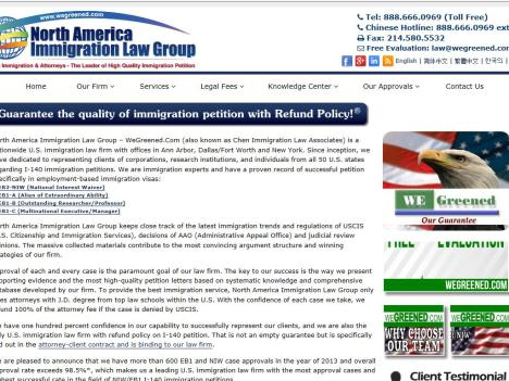 North America Immigration Law